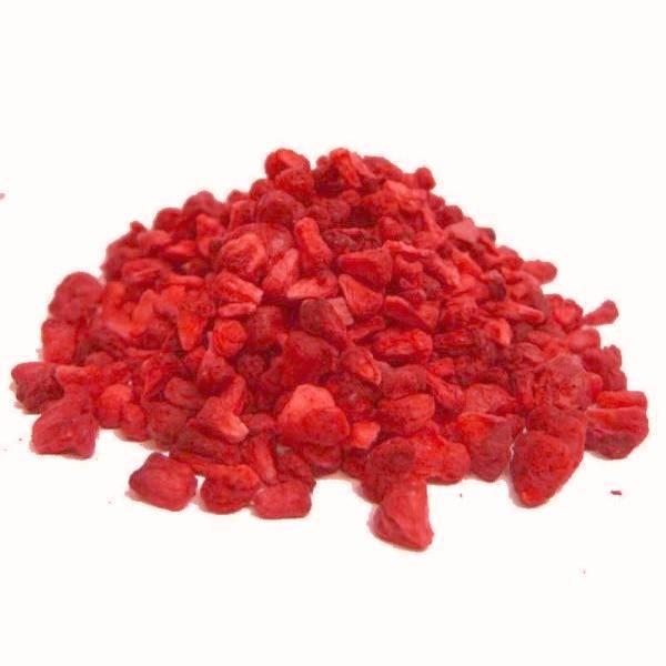 Frysetørret  hindbær