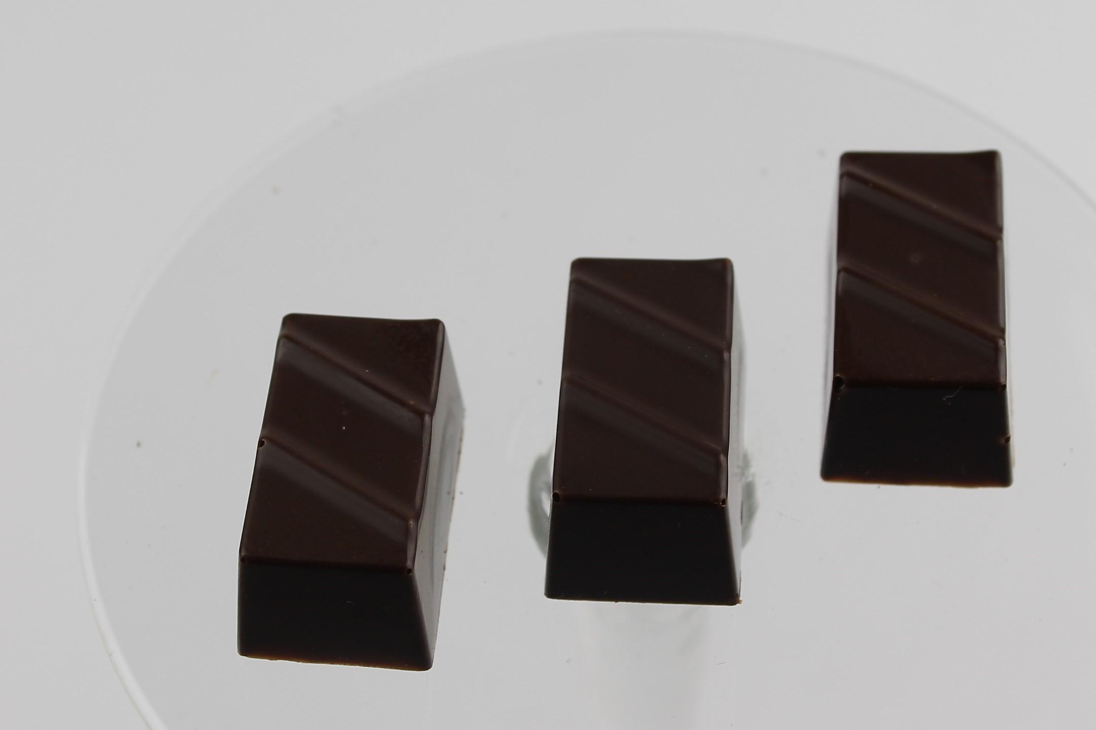 Chokoladeform Regtangel m to streger