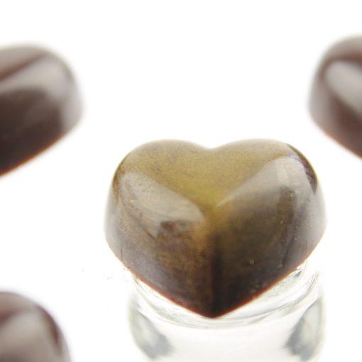 """Chokoladeform """"små Hjerter"""""""