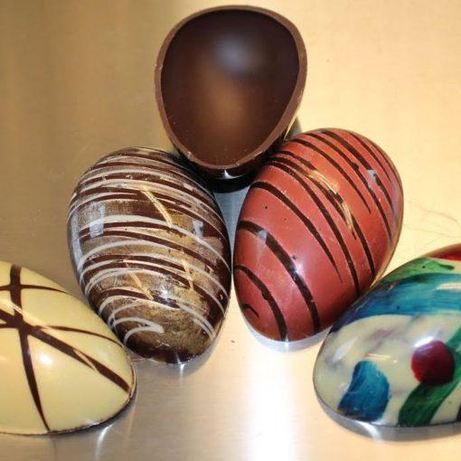 Chokoladeform Påskeæg 4 Styk